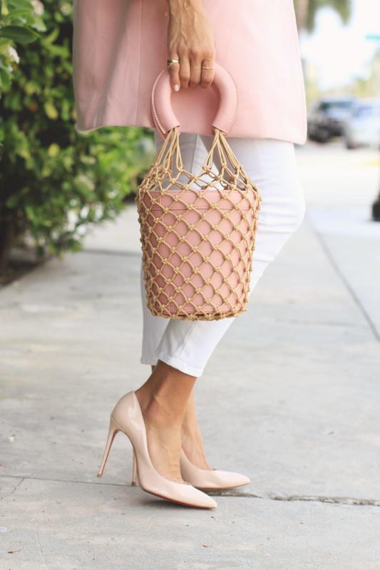 Pink Coat & Bag