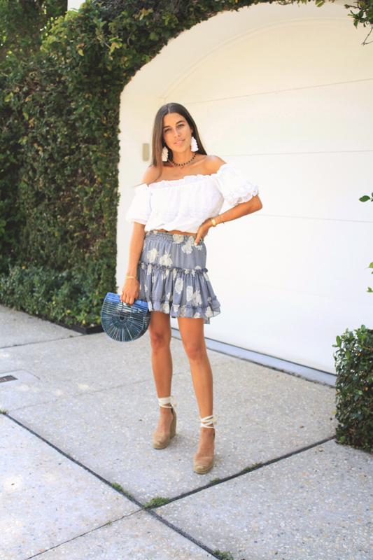 Misa Blue Skirt 1