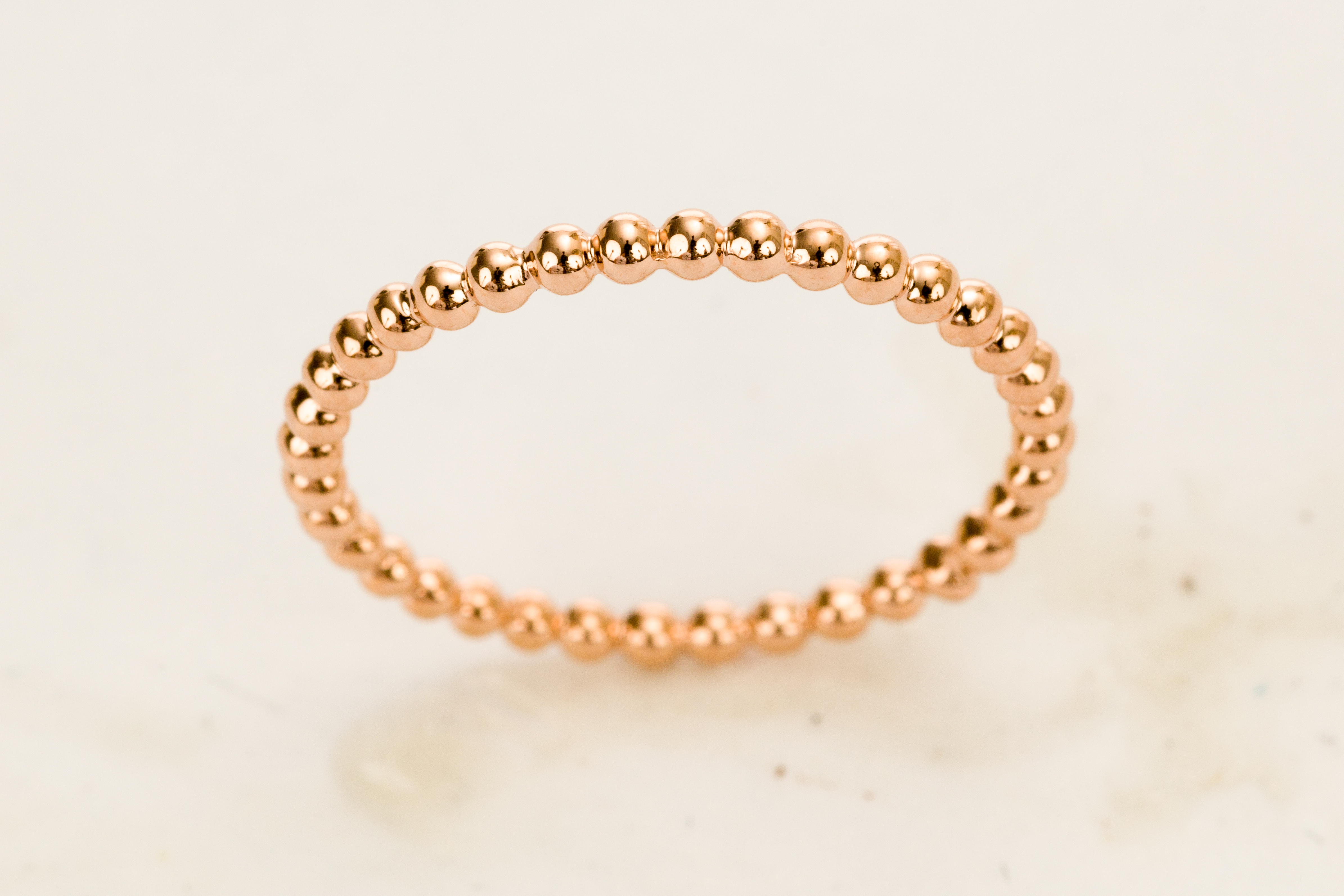 Rose Gold Round Ring